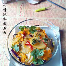 红油火锅土豆的做法