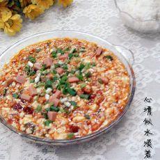 鸡刨麻婆豆腐的做法