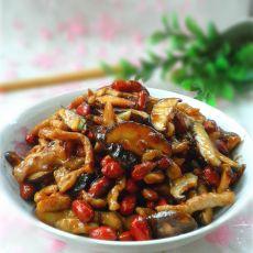 麻辣香菇肉丝的做法