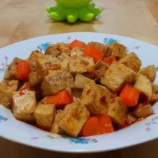 麻辣杏鲍豆腐的做法