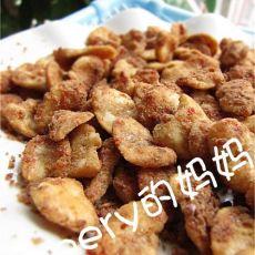 麻辣油酥豆瓣的做法