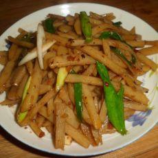 麻辣土豆条的做法