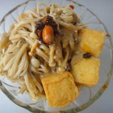 麻辣金针菇鱼豆腐的做法