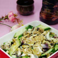 黄瓜拌海螺肉