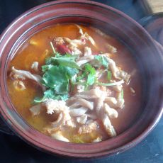 麻辣牛肚火锅的做法