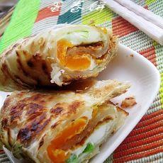蛋卷饼的做法
