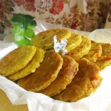 香煎奶香玉米饼