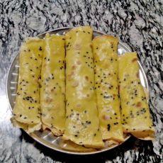自制蛋卷饼的做法