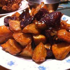 紫薯拔丝地瓜的做法