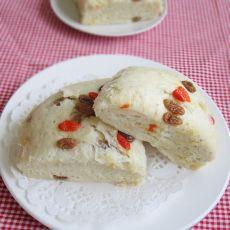 葡萄干红薯发糕