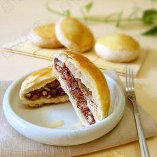 香酥红豆饼