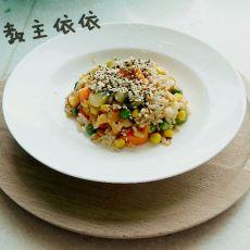 猕猴桃坚果炒饭