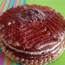 栗子可可蛋糕
