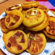 香甜板栗玉米饼的做法