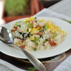 培根炒米饭