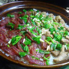 腊肠瘦肉煲仔饭