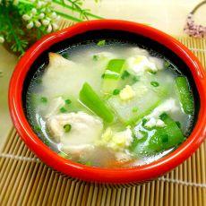 节瓜鲜鱼汤