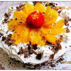 黄桃奶油蛋糕的做法