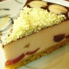 酒渍樱桃奶酪蛋糕