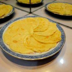 奶香玉米蛋饼的做法