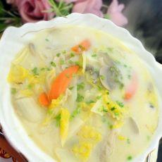 奶香白菜汤