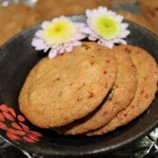 燕麦葡萄甜饼
