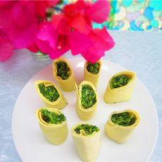 玉带波菜卷