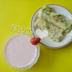 孙小菜自制酸奶奶昔