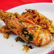 奶油黄金虾