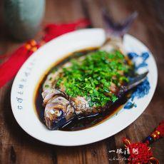 葱油武昌鱼的做法