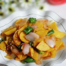 洋葱炒土豆片的做法