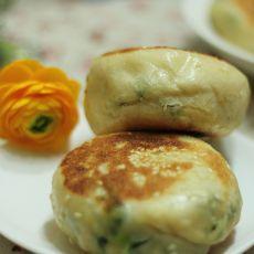 葱香发面饼