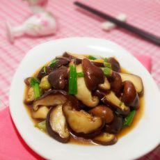 蚝油鲜冬菇