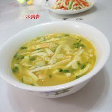 蛋丝豆腐汤