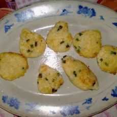 米饭鸡蛋饼的做法