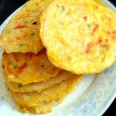 葱香土豆丝饼