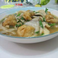 蘑菇油豆腐