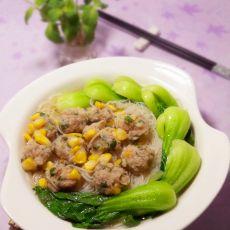 玉米肉丸汤米粉