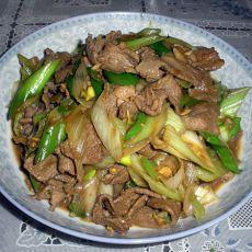 京葱炒羊腿肉