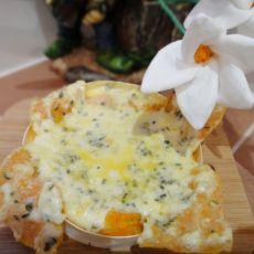 烤香葱奶酪的做法