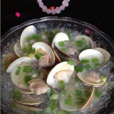 葱香青蛤汤