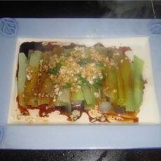 葱油芥兰的做法