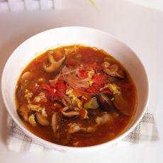 香菇粉丝鸡蛋汤