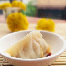 干杏鲍菇鲜肉饺
