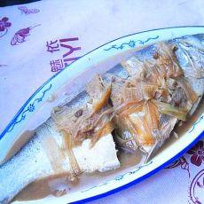 葱烧鲢鱼的做法