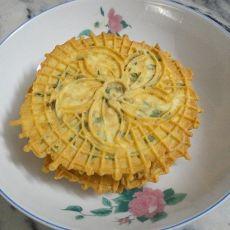 香葱芝麻脆饼