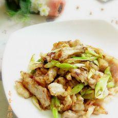 鱼香葱爆肉