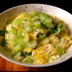 葱花炒蛋的做法