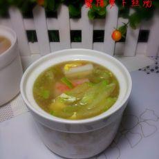 蟹棒萝卜丝汤