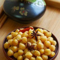 五香鹰嘴豆―好吃不上火的消夏小零食
